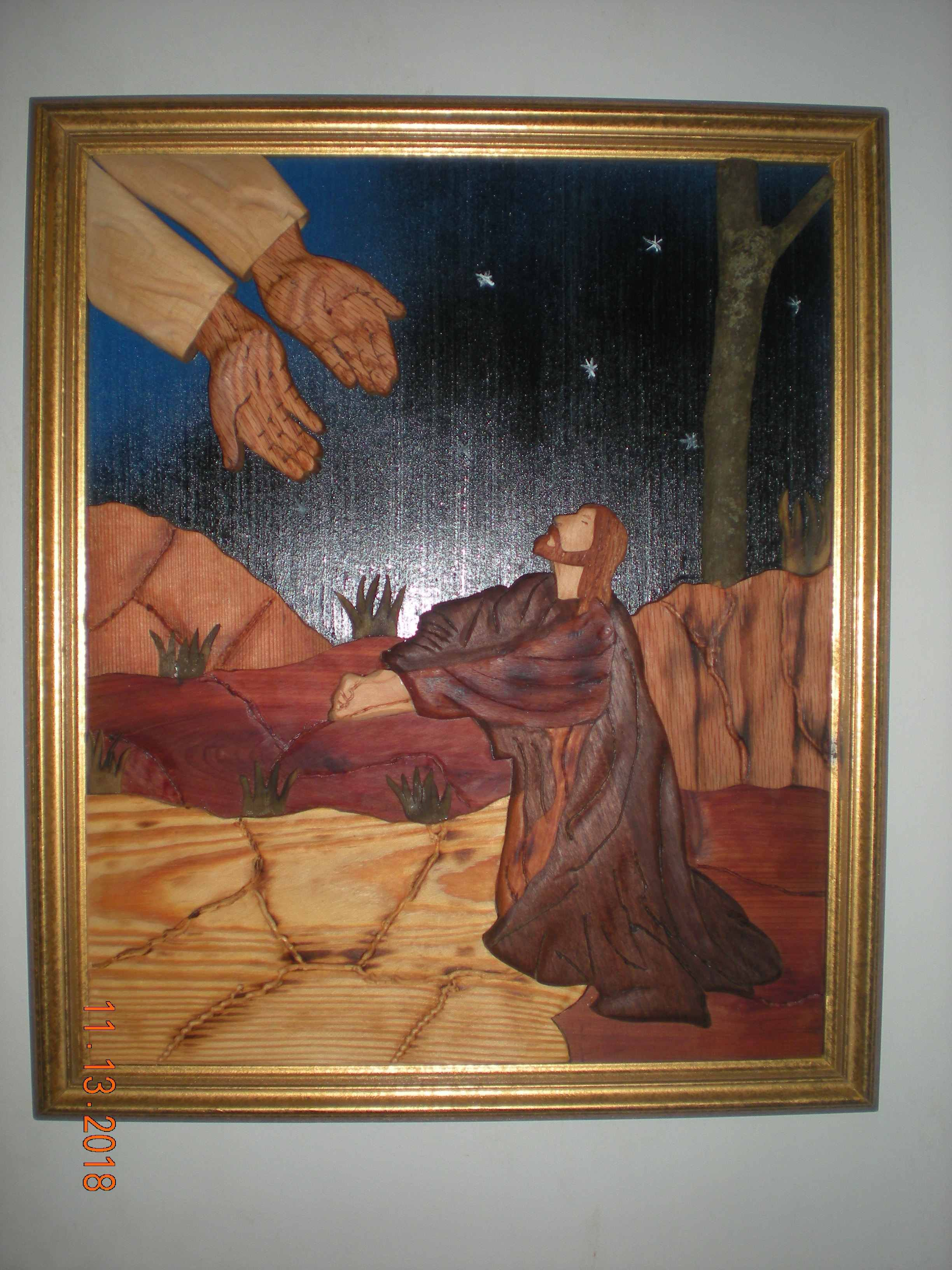 """Title is: """"I see God"""" 