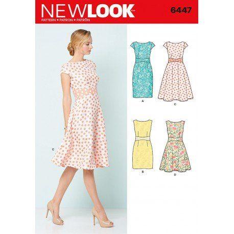 Kjole New Look snitmønster | Textile | Pinterest | Sommer