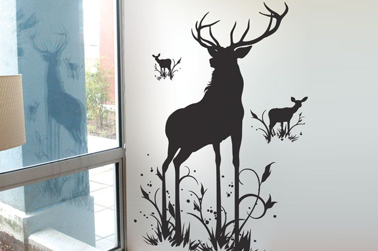 Surface collective oh deer wall tattoo at 2modern