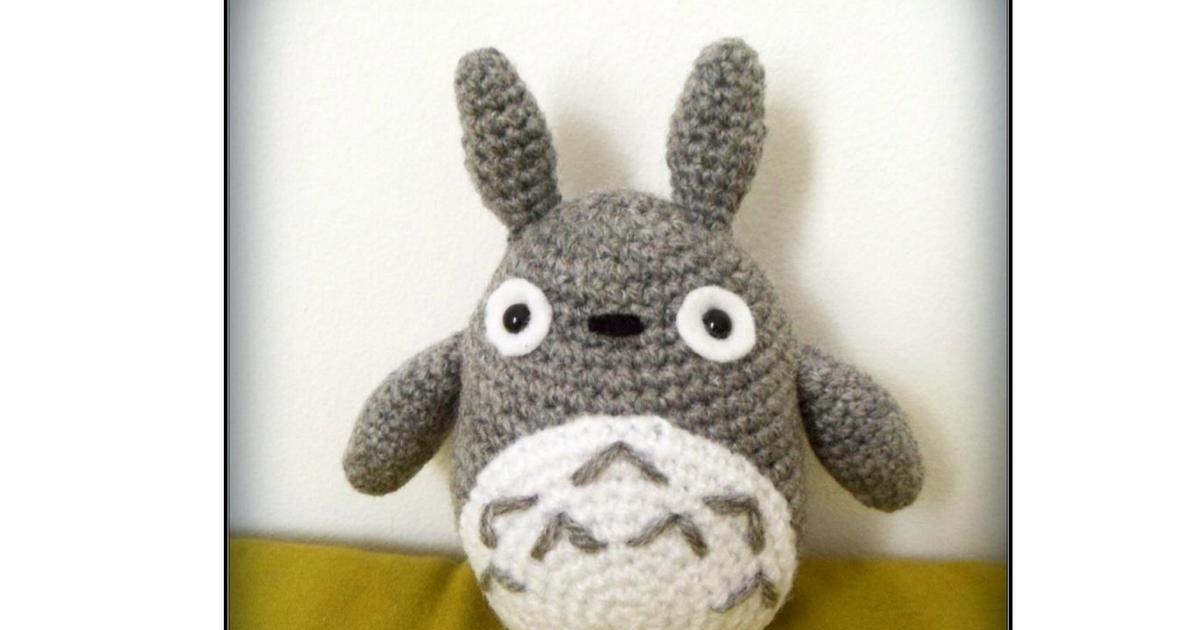 Totoro.pdf | Croachet | Pinterest | Patrones amigurumi, Patrones y ...
