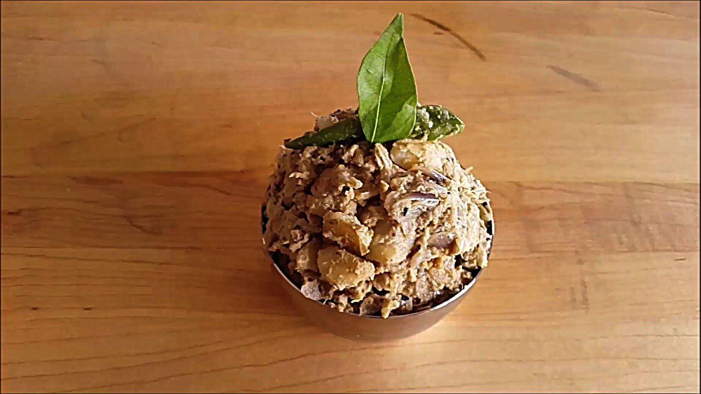 Aloo posto potato poppy seed curry potato curry