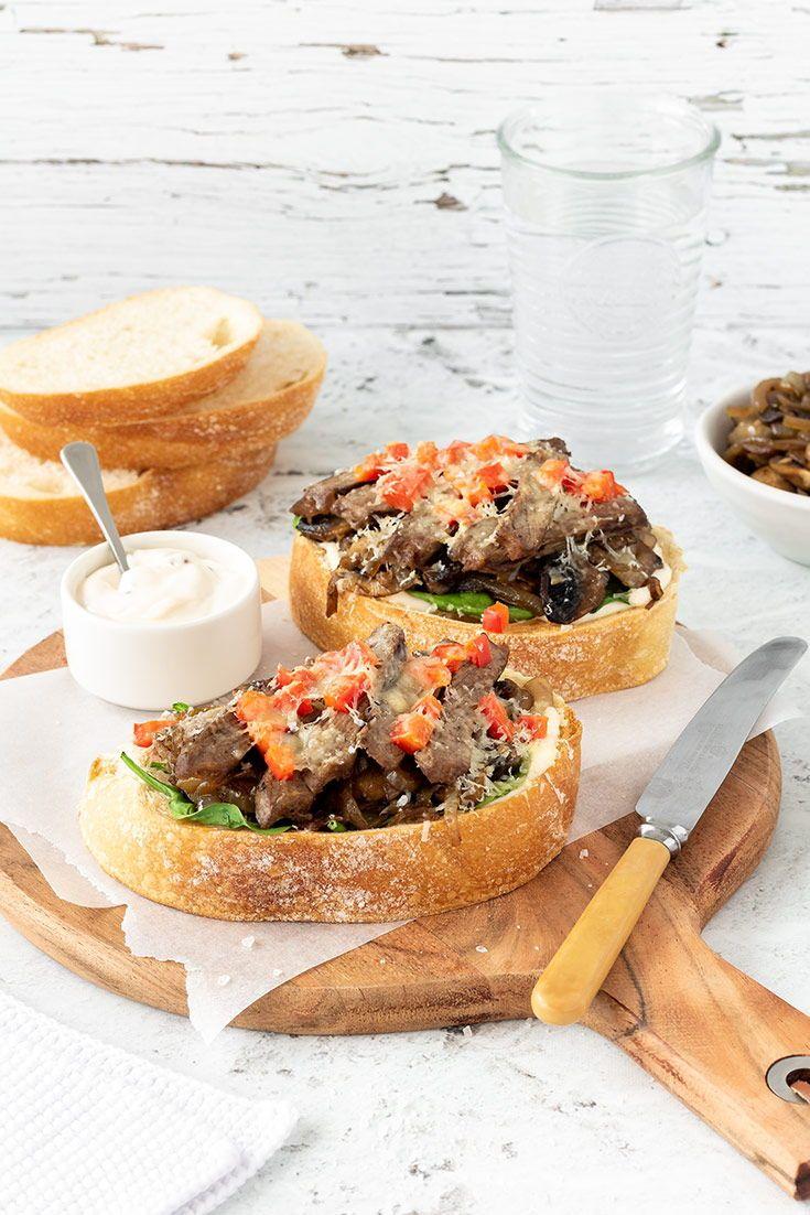 Steak melts | Recipe in 2020 | Yummy dinners, Melt recipe ...