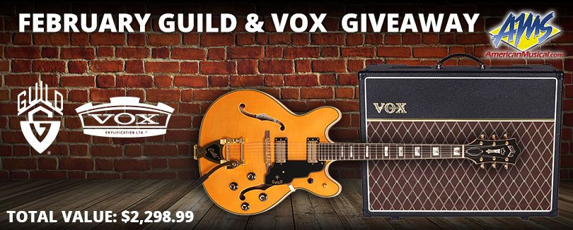 Guild in 2019 | Sweeps/Contests/Giveaways | Guitar rig, Guitar, Giveaway