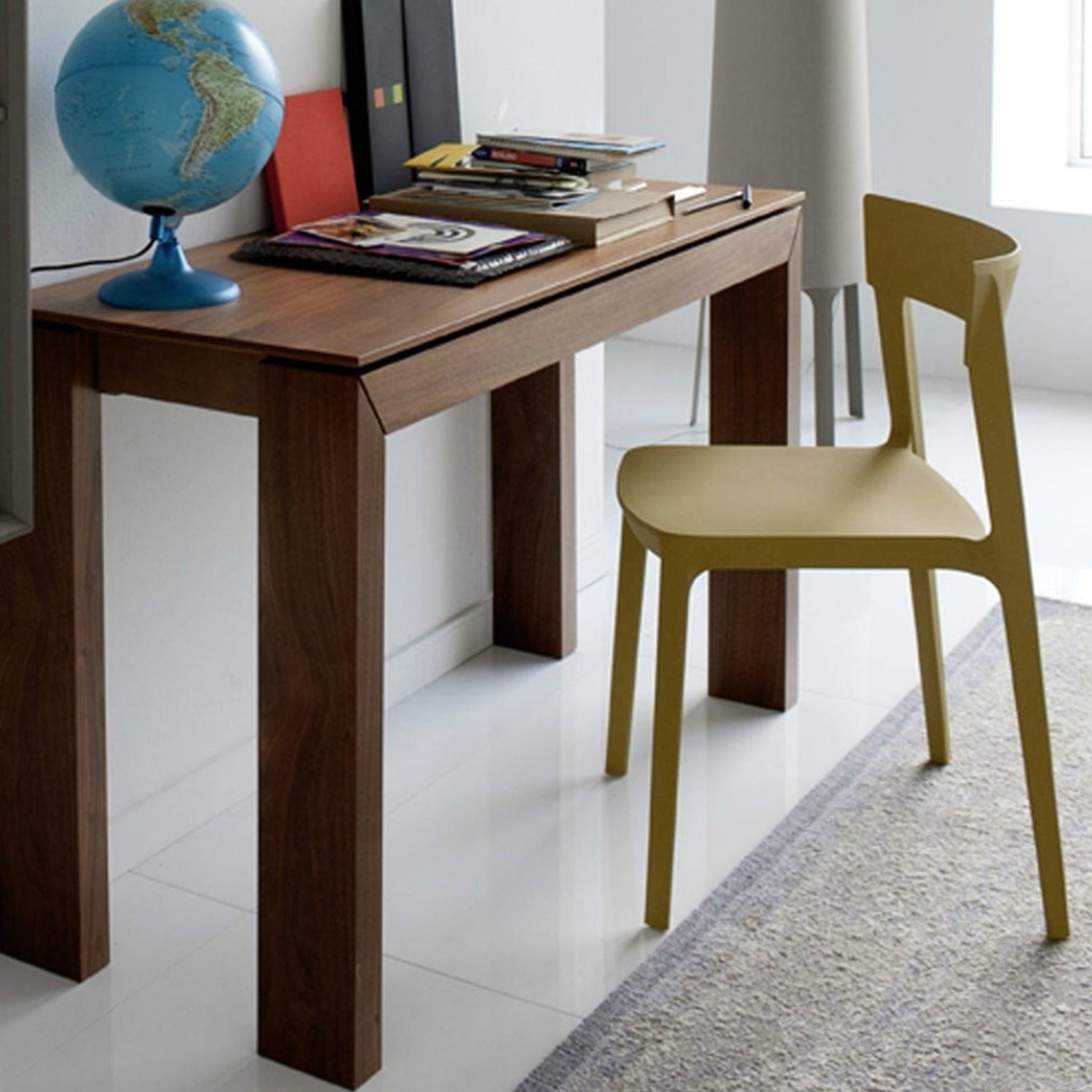 Calligaris Mistery Consolle.Sigma Wooden Extending Console Table By Calligaris