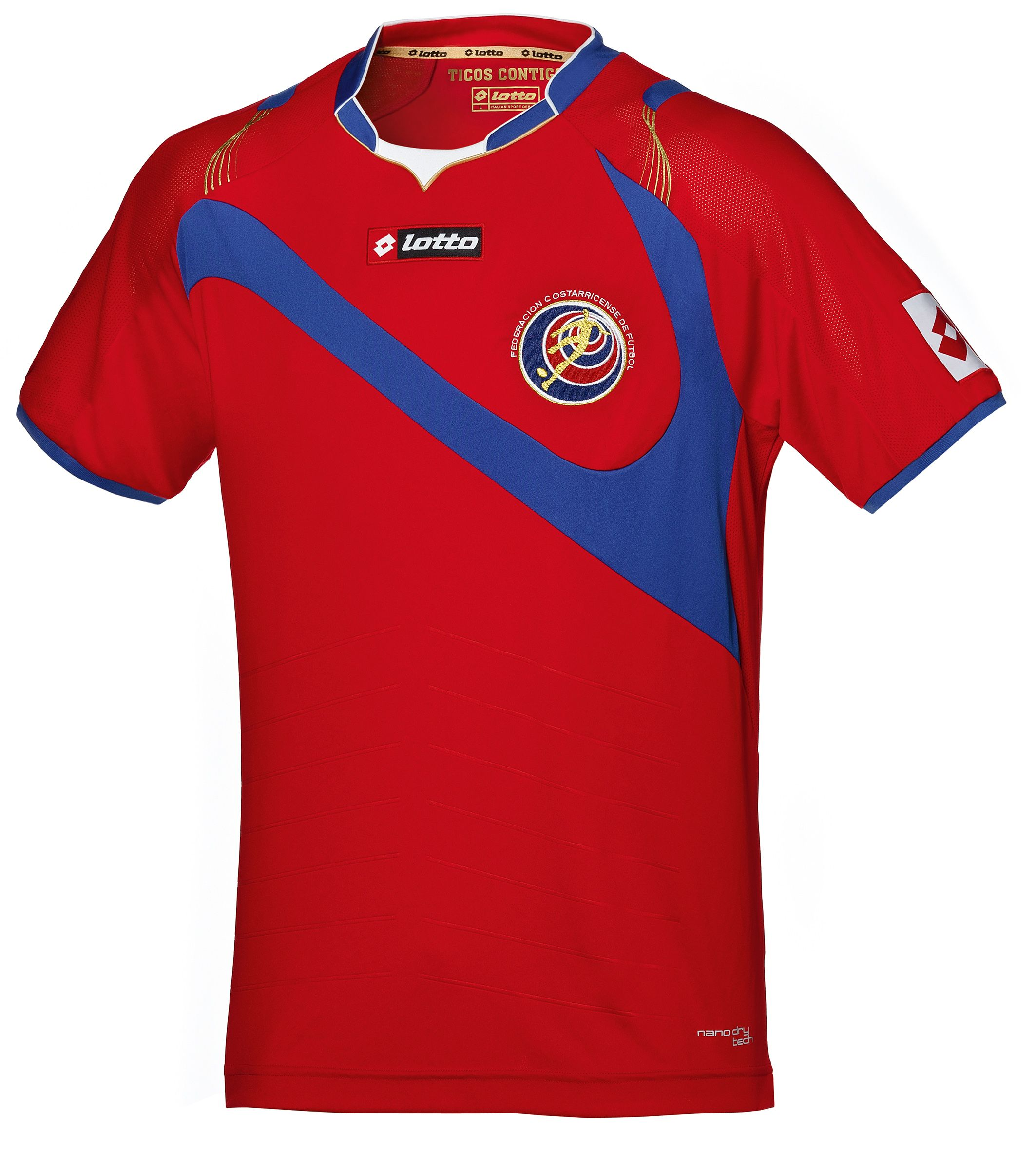 Costa Rica Jersey World Cup 2014  d91e2fb0d