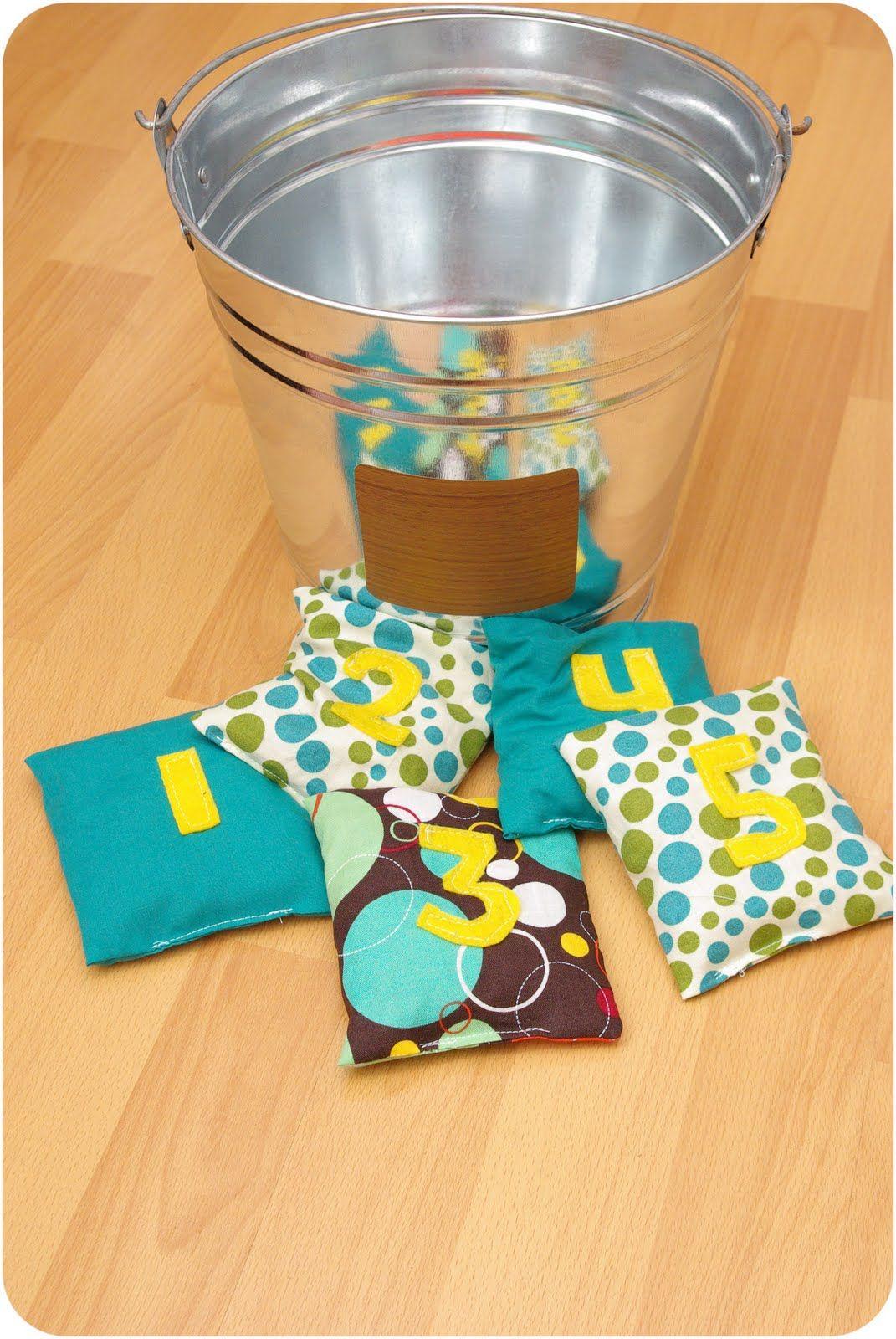Pocket Full of Whimsy DIY Bean Bag Game kids