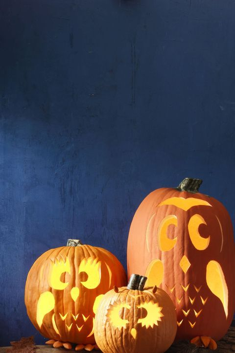 45 Easy Pumpkin Carving Ideas That Anyone Can Pull Off This Halloween
