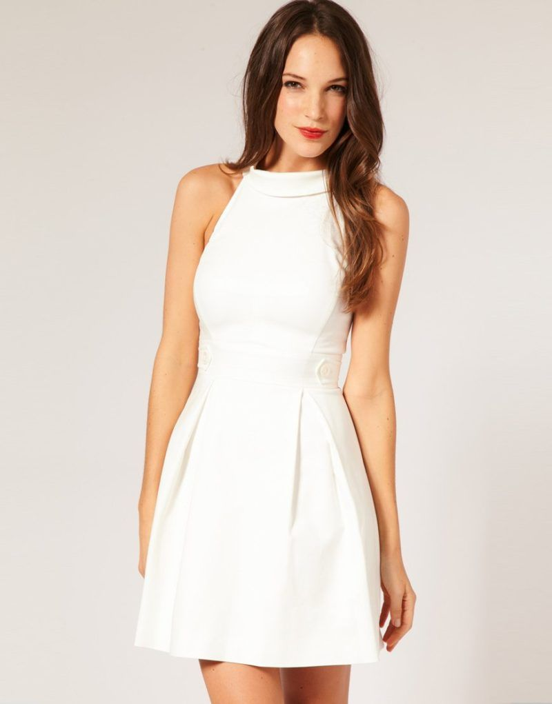 Casual White Dresses For Juniors  Casual white dress, Casual