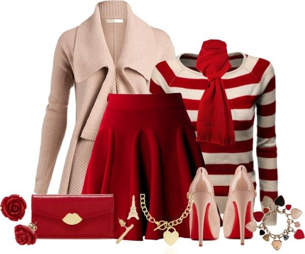 25 Great Ideas Of Valentines Day Outfits From Polyvore