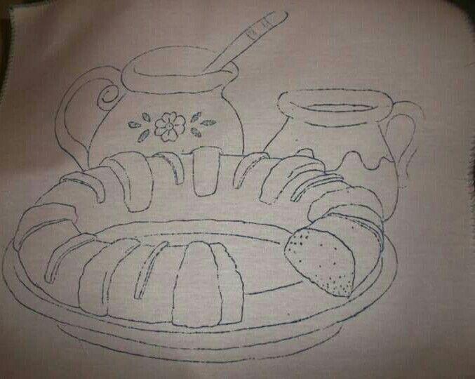 Dibujo De Rosca De Reyes Para Colorear: Dibujos Navidad