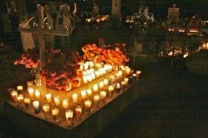 Dia De Los Muertos Cemetery Decorations