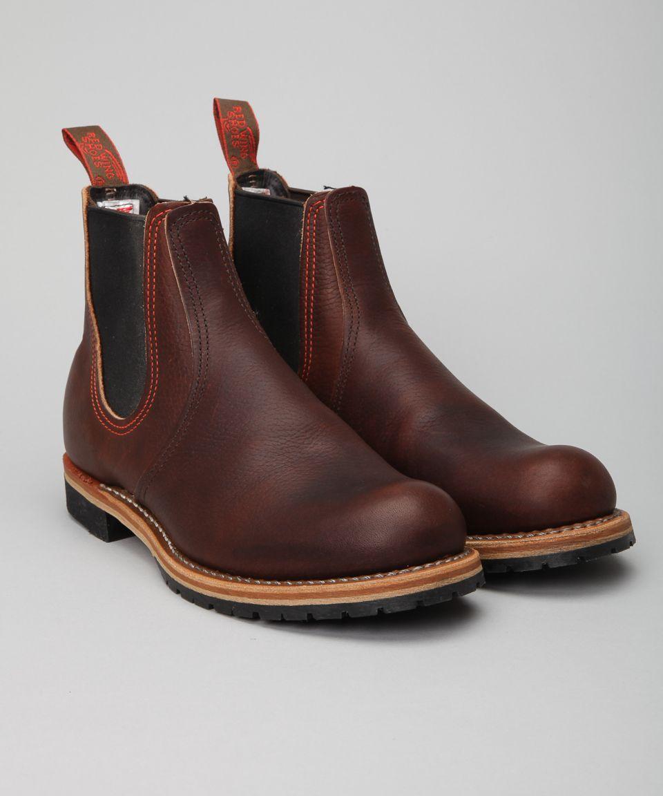 Köp Red Wing Shoes Chelsea Rancher 2917 Brown hos Lester