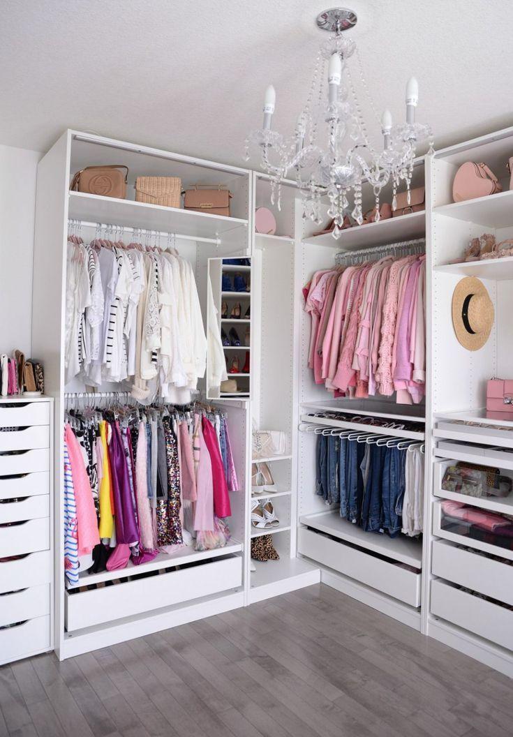 Helpful Closet Organization Tips Featuring The IKEA Pax Wardrobe