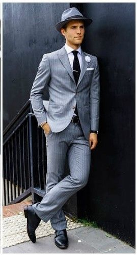 What Shirts to Wear with a Grey Suit