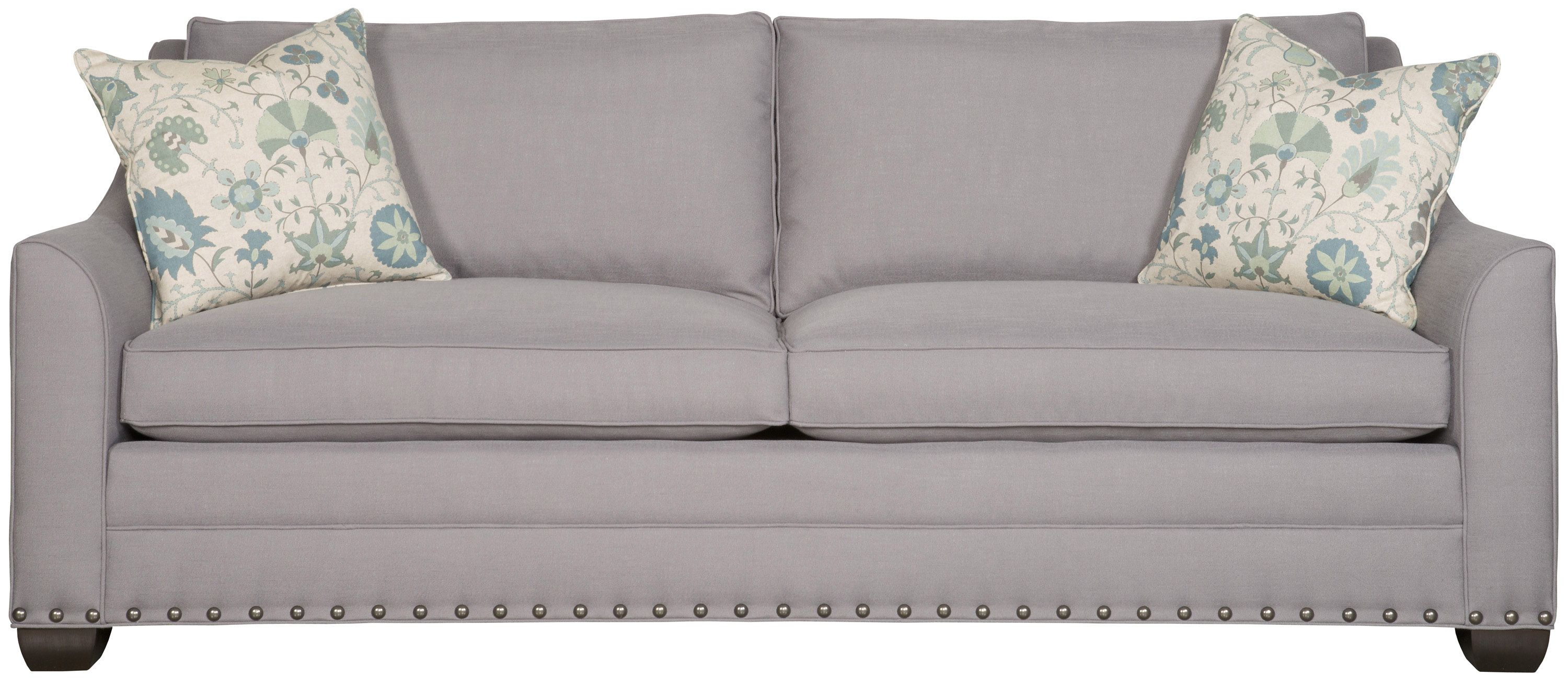 This eye catching American made sofa from Vanguard Furniture is as