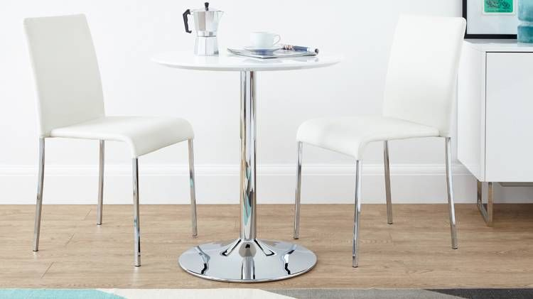 Danetti Offer A Selection Of Stylish And Contemporary Two Seater Dining Tables In Various Colours Finishes Including Gl Tops Gloss Finish
