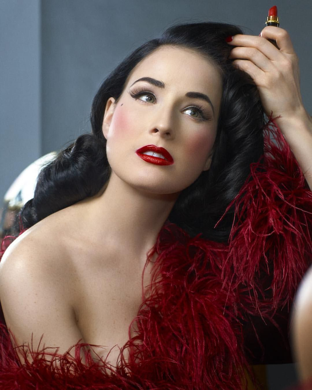 5877ab4c7 Dita Von Teese On Instagram An Unseen Outtake By Scottnathanphoto From My  Book Your Beauty Mark