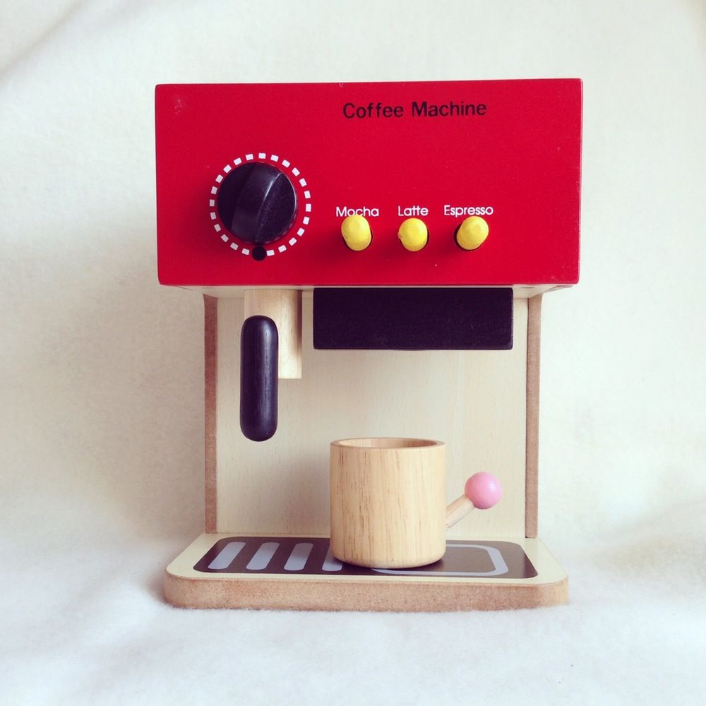 Image of My First Espresso Machine - So cute!!