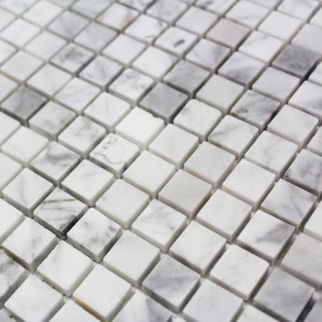 Carrelage Mosaique Sol Et Mur Marbre Poli Blanc Disponible Chez