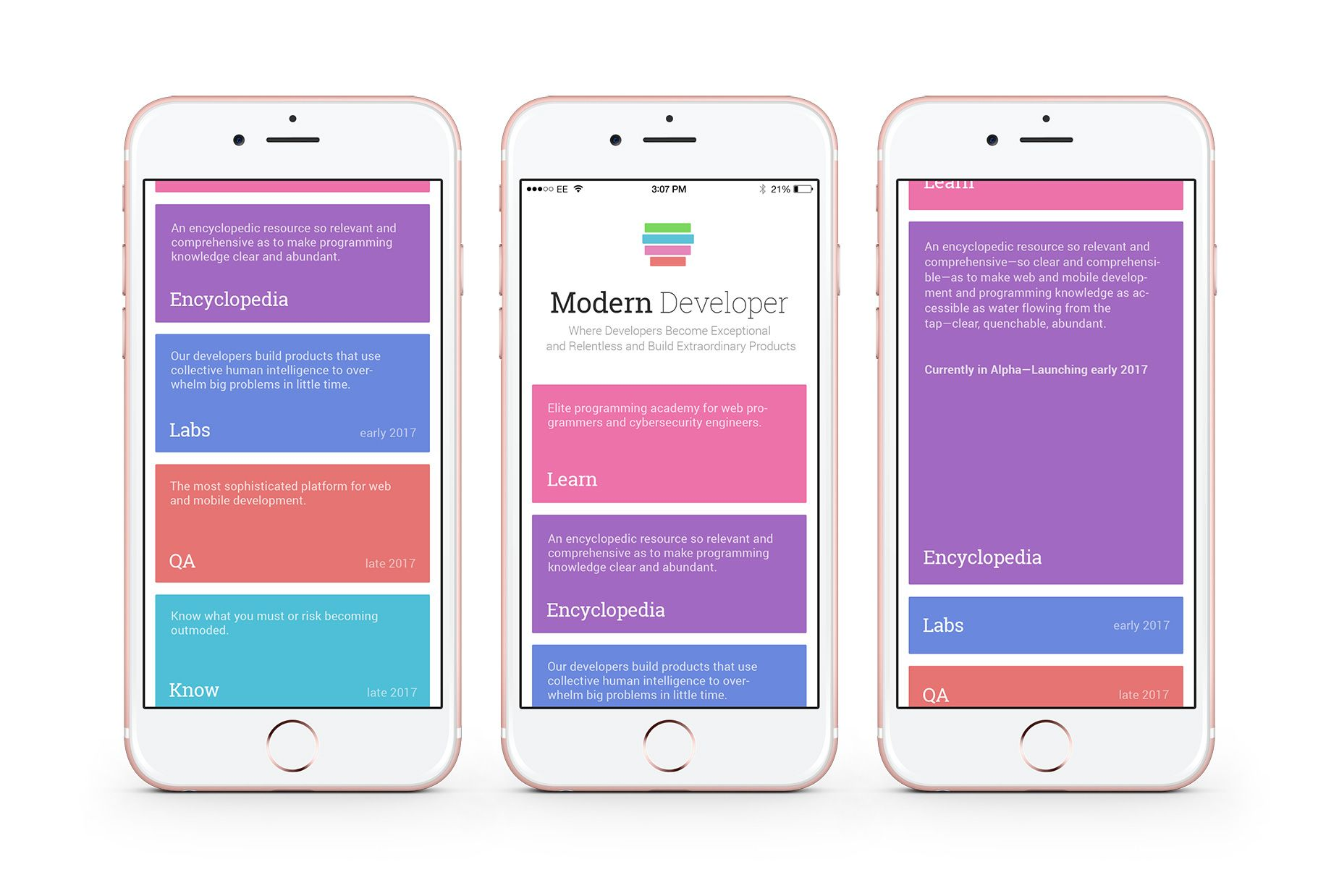 Homepage mobile layout kyril kulikov mobile interface