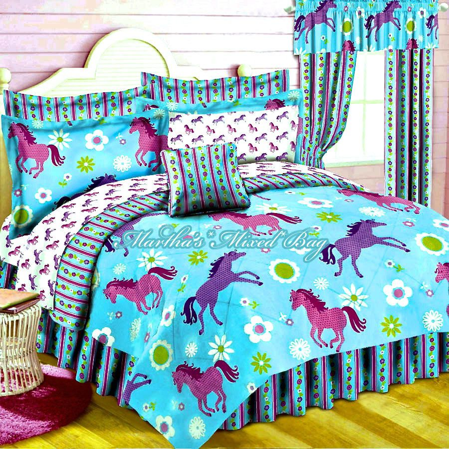 sets stall sale boys image bedding horse and lostcoastshuttle children of girls for comforter