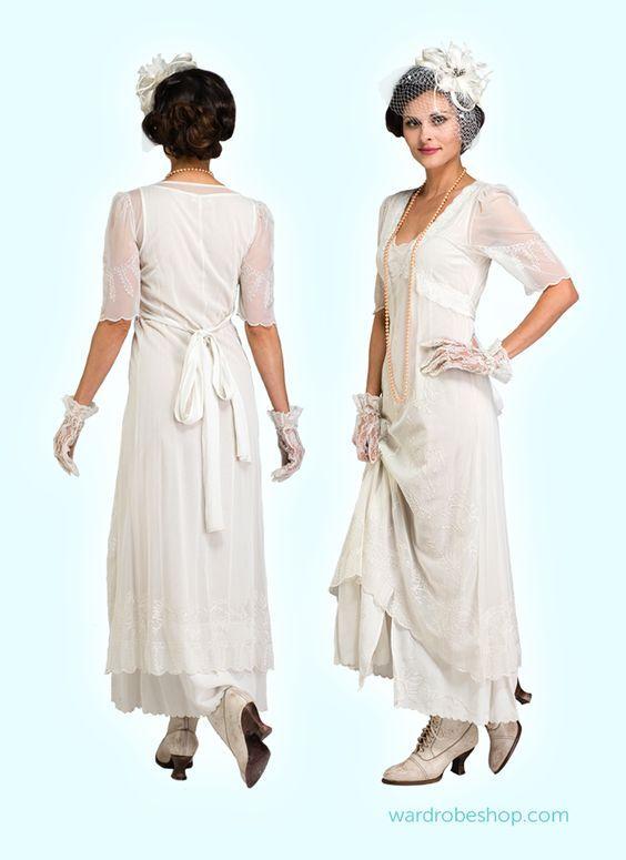 Vintage Informal Wedding Dresses & Romantic Gowns by Nataya | Mother ...