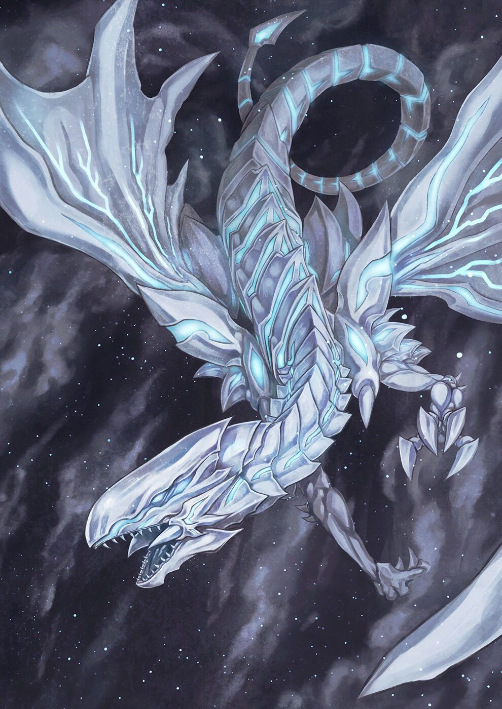 blue eyes alternative white dragon yu gi oh pinterest white
