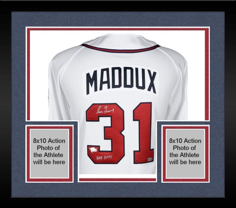 promo code a24c7 fa752 Autographed Greg Maddux Braves Jersey Fanatics Authentic COA ...