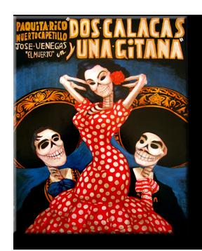 Doña Flor y sus two calacas