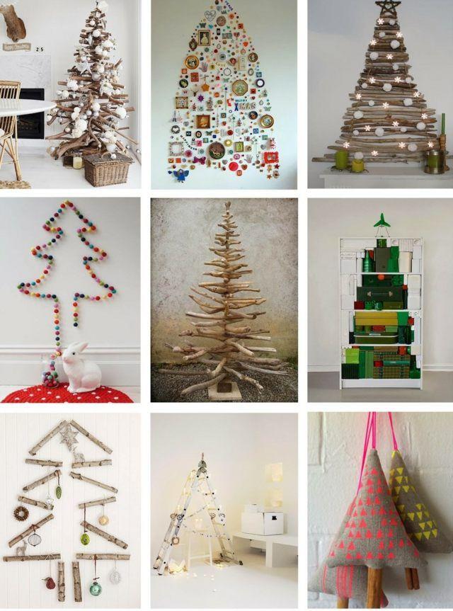 schnelle weihnachtsbastelideen christbaum selber machen. Black Bedroom Furniture Sets. Home Design Ideas
