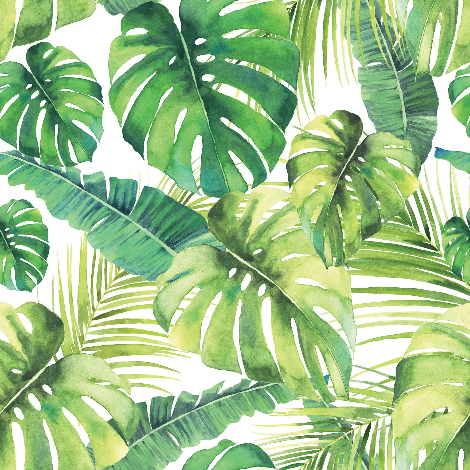 Tropical Leaf Shower Curtain In 2020 Tropical Leaves Tropical Home Decor Leaf Curtains