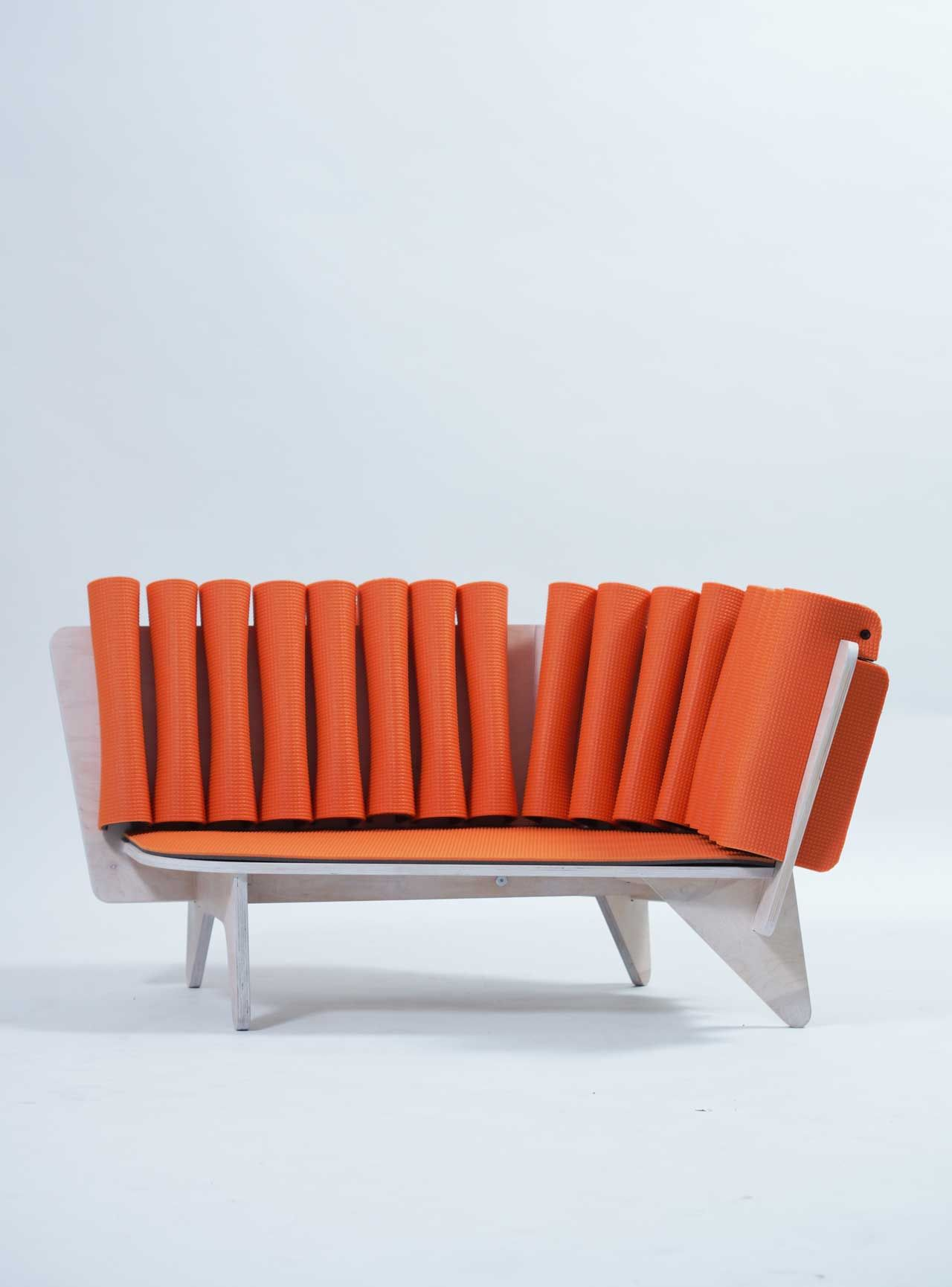 A Child\'s Chaise Made From Plywood and Foam by Márton Hegyesi ...