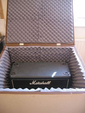 DIY Guitar Amp Isolation Cabinet | pedal board | Pinterest ...