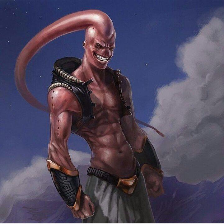 Majinbuu ;-)  by devilzsmile.com #devilzsmile