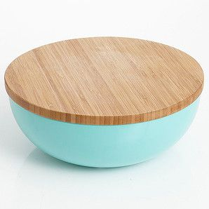 Ceasar Salad Bowl With Bamboo Lid Target Australia For The Home