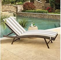 Member S Mark Chaise Lounge Cushions 2 Pk Cushions Outdoor Furniture Outdoor Decor