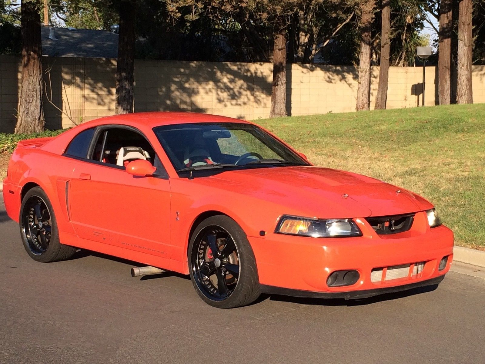 Ebay 2003 ford mustang cobra competition orange svt cobra 37k mii 787 hp 10 sec