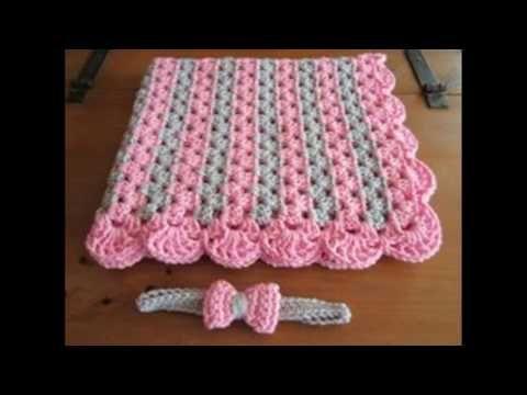 Cuadrado o muestra para colchas cojines mantitas tejido - Colchas ganchillo bebe ...
