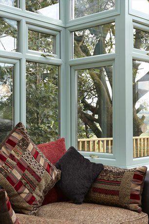 Rehau Upvc Conservatory In Chartwell Green Internal From Grm Windows South Wales Windows And Doors Rehau Double Glazed Window