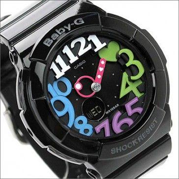 f3a2ed2bfd96 BUY Casio Baby-G Black Neon Illuminator Alarm Watch BGA-131-1B2, BGA131 - Buy  Watches Online   CASIO NZ Watches