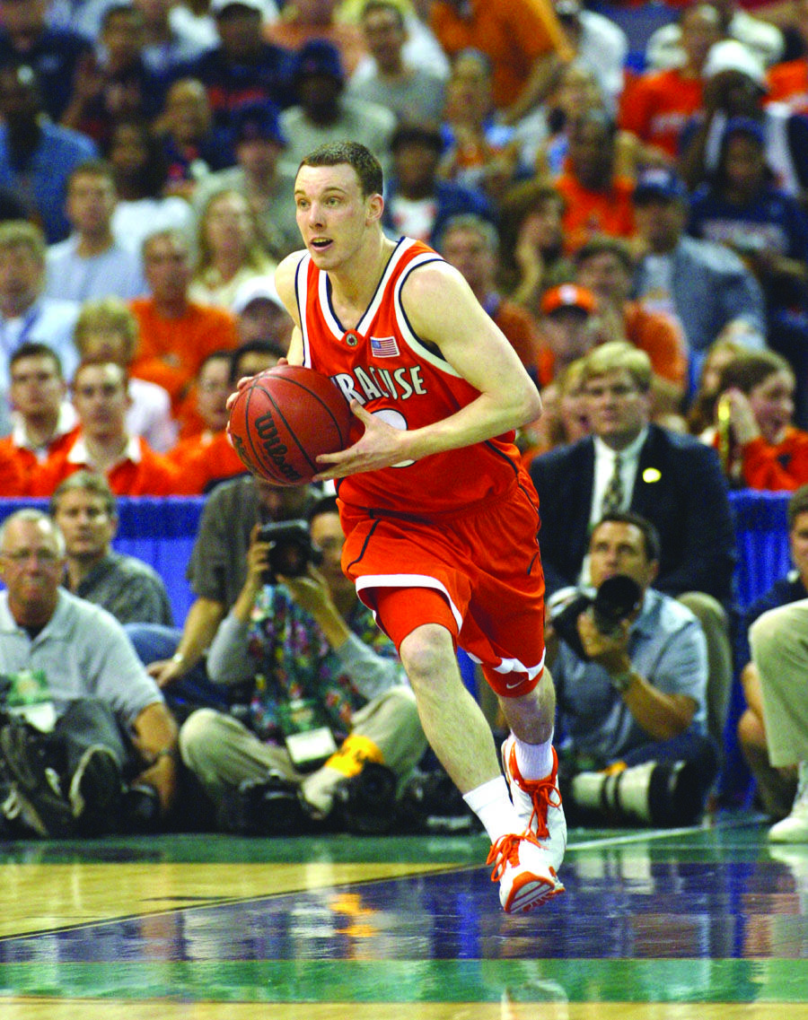 Gerry McNamera eventually became an SU great Michael
