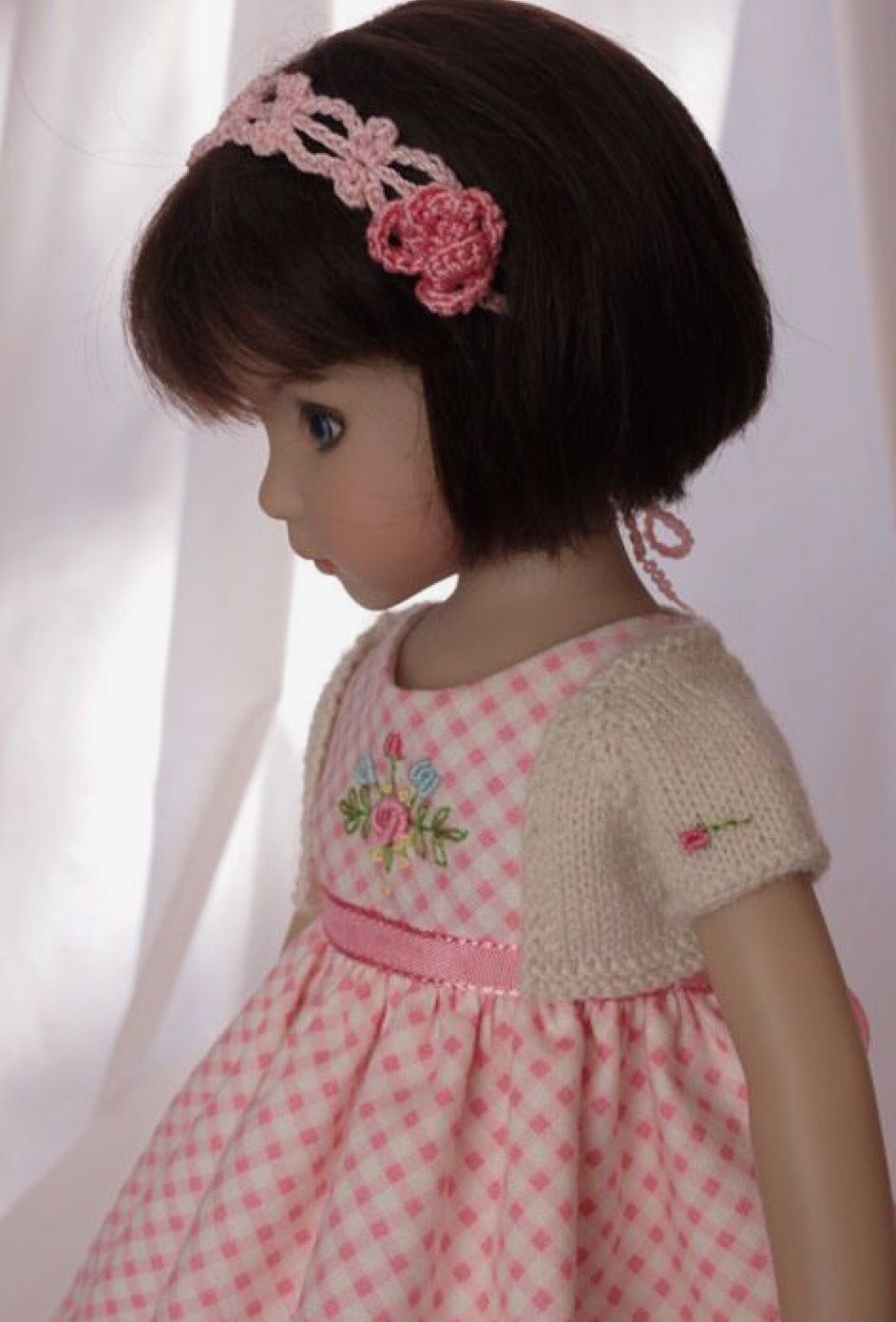 Dress for dolls | costura niños | Pinterest | Lebensechte puppen ...