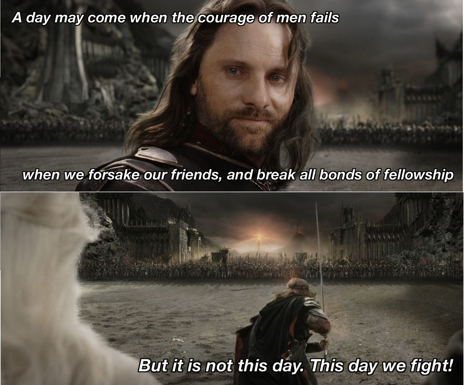 On Teamwork Lord Of The Rings Lotr Quotes Gandalf Quotes