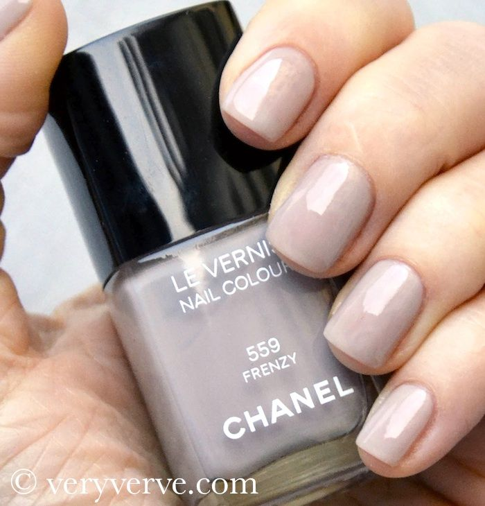 veryverve: Chanel Frenzy nail polish nude trend fall winter 2012 ...