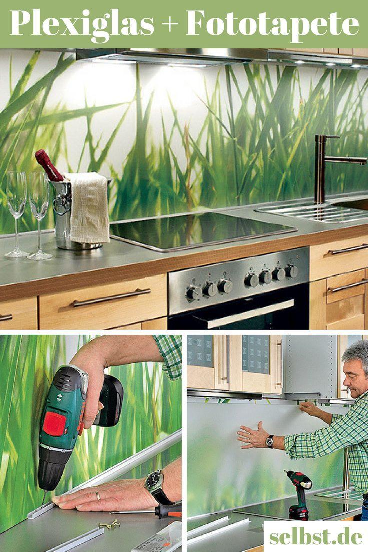 Küchenrückwand Plexiglas  Küchen rückwand, Fototapete