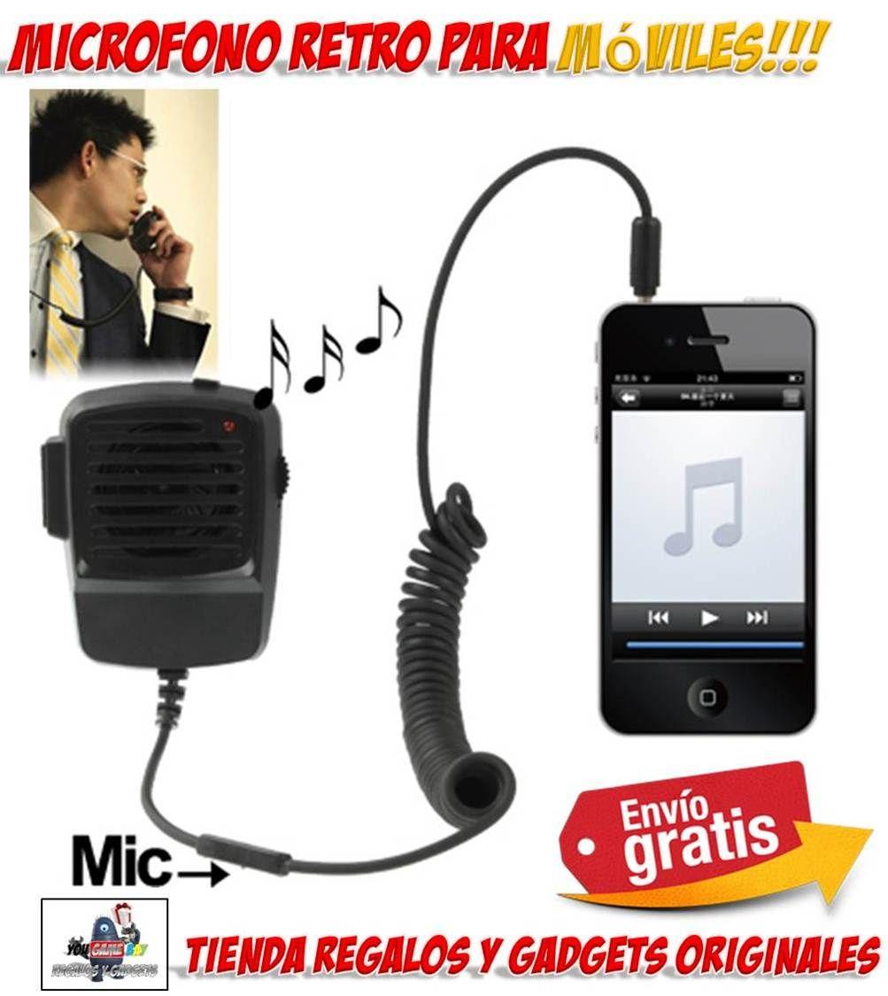 #accesorios #novedades #iPhone #gadgets #regalos #original #moviles #telefonia #retro #auricular #microfono #altavoces  Auricular retro para iPhone con diseño de Walkie Talkie. Gadgets originales para iPhone y teléfonos móviles. Comprar microfono retro para iPhone. http://www.yougamebay.com/es/product/auricular-para-iphone-estilo-walkie-talkie-compatible-con-iphone-3-giphone-3gsiphone-4iphone-4s