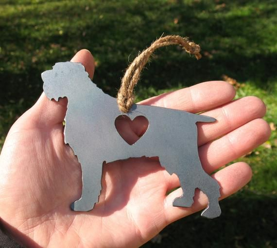 Wirehaired Pointing Griffon Pet Loss Gift Ornament - Pet ...