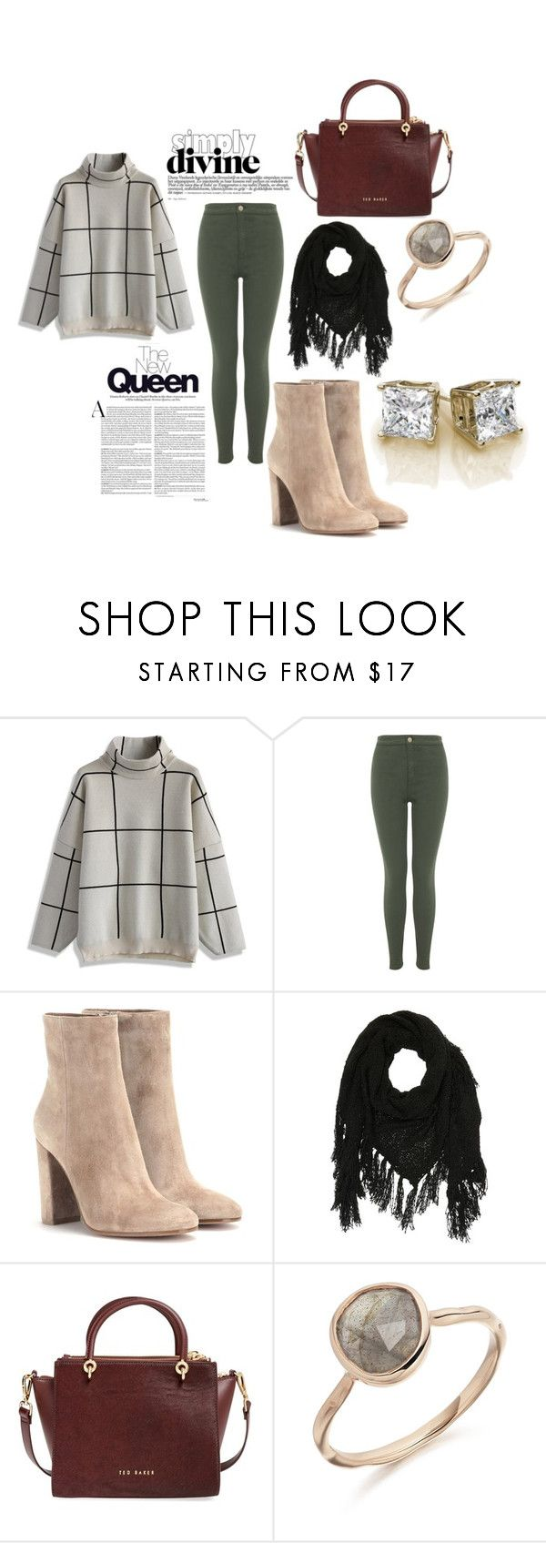 """Sin título #1559"" by paularamirez12 ❤ liked on Polyvore featuring Chicwish, Miss Selfridge, Gianvito Rossi, Charlotte Russe and Ted Baker"
