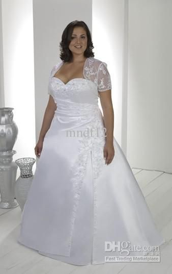 Wholesale Wedding Dress Bride Custom Plus Size 16 18 20 22 24 26 28 Free Shipping 89 6 Plus Size Wedding Gowns Ivory Lace Wedding Dress New Wedding Dresses
