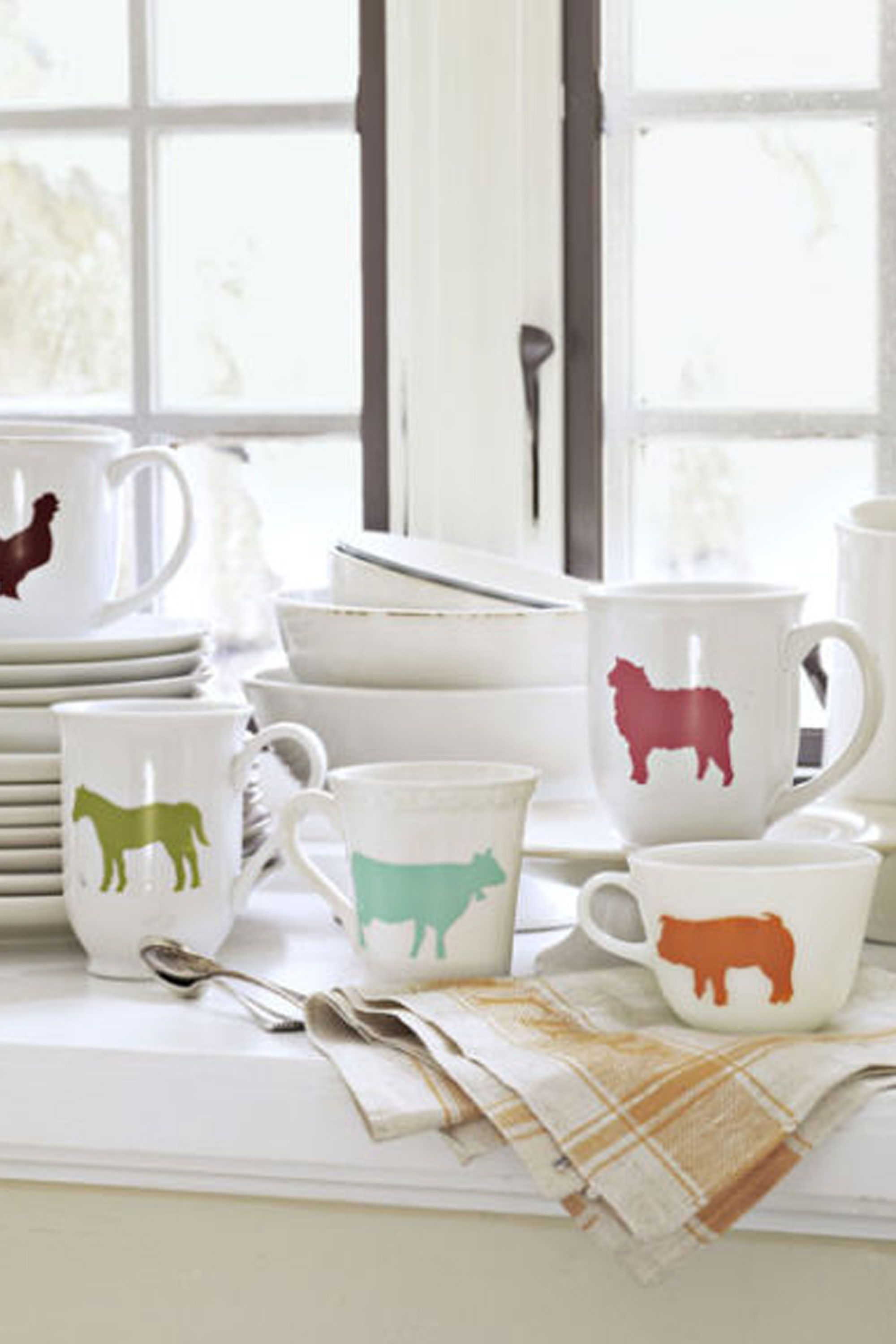 12 Fun DIY Projects for Your Kitchen | Stenciling, Craft and ...